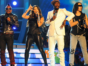 Black Eyed Peas Super Bowl XLV Half Time Show