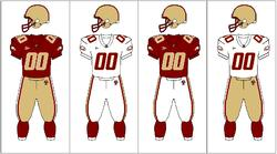 Boston College Eagles Uniform Combinations
