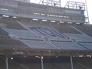 TCU Logo in Amon G. Carter Stadium