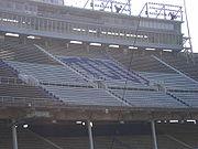 TCU Logo in Amon G. Carter Stadium